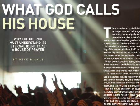 do que Deus chama a sua Casa?